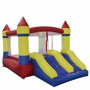 NEW COMMERCIAL GRADE BOUNCY CASTLE SLIDE BIRTHDAY PARTY WHY DO RENT