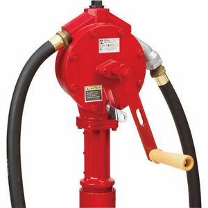 Fill-Rite FR112 Rotary Hand Pump, Telescoping Suction Pipe