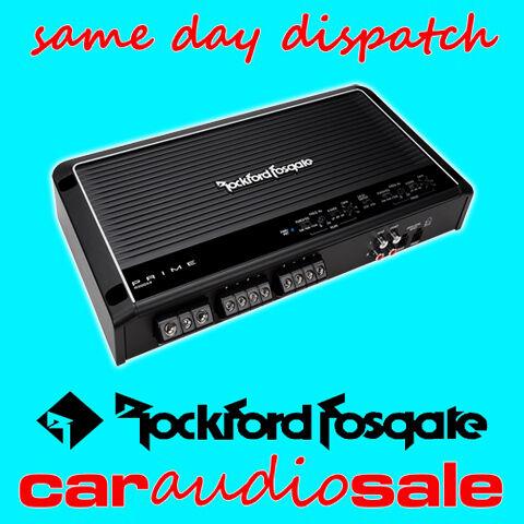 ROCKFORD FOSGATE PRIME R300X4 300 WATT 4 CHANNEL BRIDGEABLE POWER AMPLIFIER