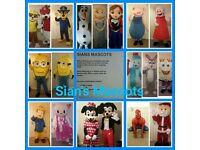 SIANS MASCOTS - Iggle Piggle,Peppa Pig,Minion,Paw Patrol,Fireman Sam,Mickey & Minnie,Olaf