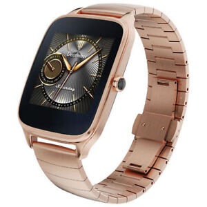 """ASUS ZenWatch 2 1.63"""" Smartwatch - Rose Gold BRAND NEW $200 OBO"""