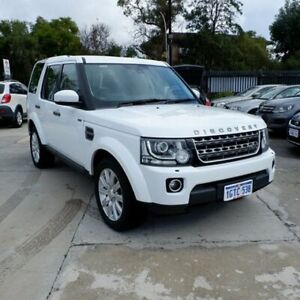 2014 Land Rover Discovery Series 4 L319 MY14 TDV6 8 Speed Sports Automatic Wagon St James Victoria Park Area Preview
