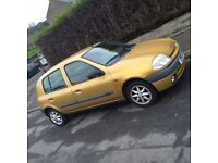 CLIO 1.2 , 8 valves LOWEST INSURANCE POSIBLE MOT 02/18 SALE OR SWAP WITH BIGGER, ZAFIRA SHARAN