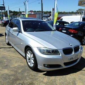 2010 BMW 320i E90 MY10 Lifestyle Silver 6 Speed Steptronic Sedan Croydon Burwood Area Preview