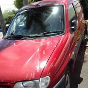 2002 Citroen Berlingo Red 5 Speed Manual Van Nambour Maroochydore Area Preview