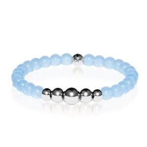 50% OFF All Jewellery - Healing | Silver Aura Aquamarine Bracelet