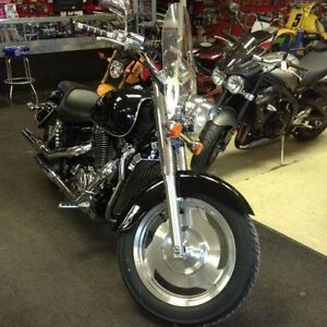 2001 HONDA SHADOW VT1100 SABRE   $3999