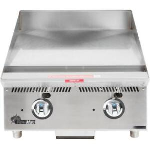 Star 824MA Ultra Max 24 Countertop Gas Griddle w Manual Controls *RESTAURANT EQUIPMENT PARTS SMALLWARES HOODS AND MORE*