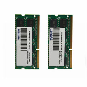 Patriot DDR3 16 GB (2X8GB) PC3-12800 1600MHz RAM Laptop