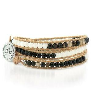 50% OFF All Jewellery - Starboard Stone Lotus WrapBracelet