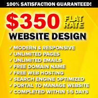 ✪ AFFORDABLE STUDENT WEB DESIGNER ✪ $350 PROFESSIONAL WEBSITE