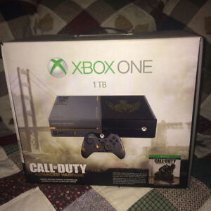 XBOX ONE CALL OF DUTY ADVANCED WARFARE LIMITED EDITION BRAND NEW