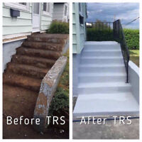 TRS Waterproofing Concrete Restoration