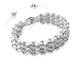 50% OFF All Jewellery - Silver Kismet Links | SlateBracelet