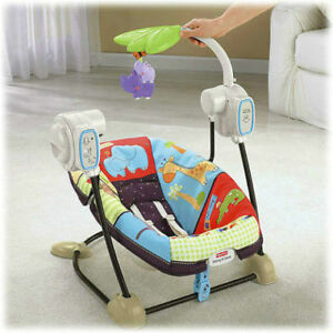 Fisher Price Zoo Spacesaver Swing