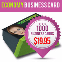 Business Card Printing - Cheap Price with Free GTA Delivery