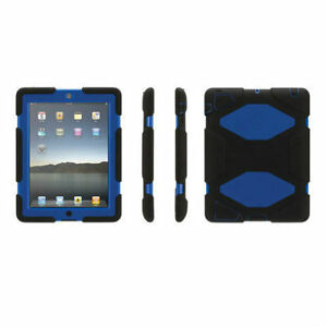 Like New Griffin Survivor iPad Air Case (GB36307) - Black/Blue
