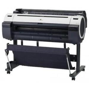 """36"""" Canon imagePROGRAF iPF755 755 Colour Large Format Corporate and CAD Printer REPOSSESSED Printing Shop Copy Machine"""