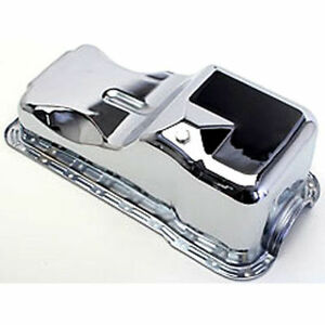 Chrome Oil Pan 1965-87 Ford Car 260, 289, 302