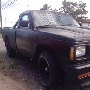 1985 chevy s 10 trade for street bike or cruiser