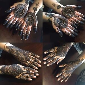 Professional Henna Artist for Brides and Personalized Henna!