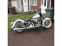 Harley Davidson heritage softball year 1994 really good bike