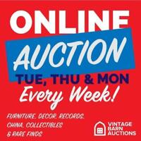 ANTIQUES, Jewellery, Electronics, Vintage and Retro AUCTION!