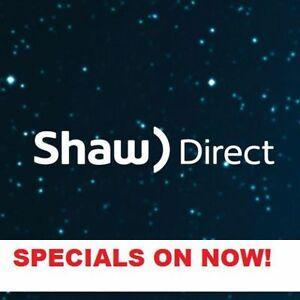 Shaw Direct Satellite TV Promotion - No Contract Free Install!