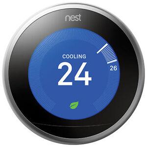 Nest Wi-Fi Smart Thermostat 3rd Generation ( BRAND NEW )