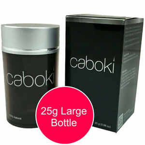 IN STOCK! CABOKI Black Hair Fibers! Hair Loss Solution!