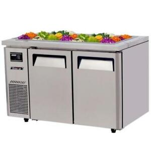"""47 1/4"""" Refrigerated Buffet Display Table - 11 Cu. Ft."""