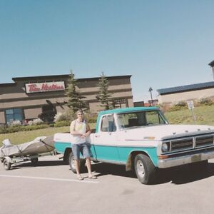 72 Ford F-100 for sale or trade