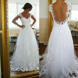 Stunning Lace Details - Romantic Wedding Dress!