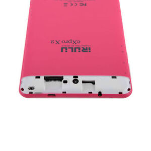 Brand new Pink 7 Inches DUAL SIM Phone/PHABLET/tablet irulu X2.
