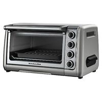 KitchenAid KCO111CU Countertop Oven, Silver **NEW/NEUF**
