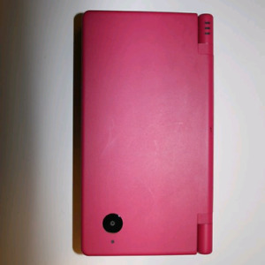 Pink DSi with game and charger