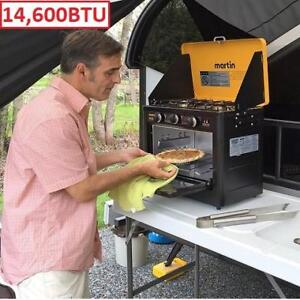NEW PORTABLE CAMPING GAS STOVE 118100 185733216 MARTIN GRILL/OVEN OUTDOOR