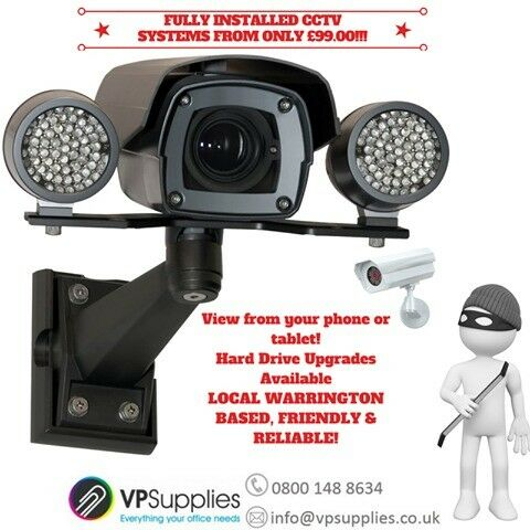 Spring Saver Deals for all CCTV, Alarm & Security Lighting Systems installations booked before 31/5