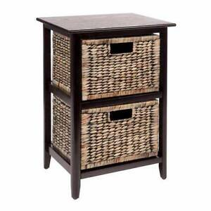 Havana 2 Drawer Sidetable - Black x 2 Leppington Camden Area Preview
