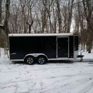 16 x 7 Stealth Enclosed Trailer