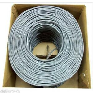1000Ft Cat5E Network Cable RJ45 Ethernet Lan Patch Internet Wire