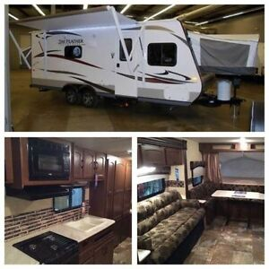 Light Weight SUV Towable Camping Travel Trailer for Rent.