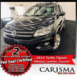 Pano-Roof & Leather~'12 VW Tiguan Turbo 4Motion~ Ride in Style