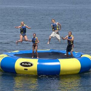 Water Trampoline Pontoon Dock Slide Park Towables
