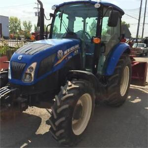 TRACTEUR NEW HOLLAND T4.85 CAB 4X4 12/12 - 2014 531 HEURES SLM!