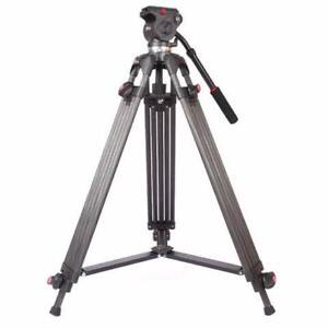 JY0508C Carbon Fiber Professional Video Tripod
