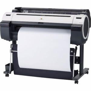 Canon iPF755 wide format plotter for sale.