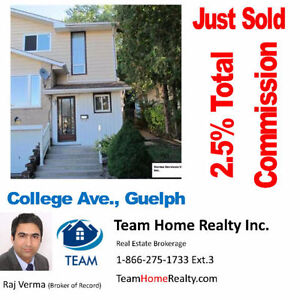 Realtor Services at Discounted Fee Cambridge Kitchener Area image 2