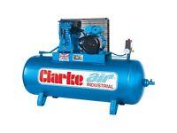Clarke XE15/150 Industrial Air Compressor O/L (230V) **STILL UNDER WARRANTY