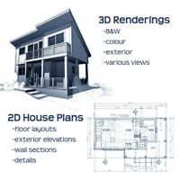 Drafting House Plans / Blue Prints
